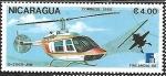 Sellos de America - Nicaragua -  Helicopteros -  Finlandia 1988