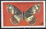 Sellos de Africa - Guinea Ecuatorial -  Mariposa - Araschnia levana)