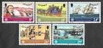 Sellos de Europa - Reino Unido -  310-314 - Año Mundial de las Comunicaciones