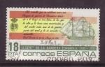 Sellos de Europa - España -  II cent. bandera española