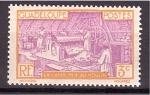 Sellos de America - Guadeloupe -  Refineria azucarera