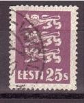 Sellos de Europa - Estonia -  Escudo Nacional