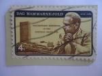 Sellos de America - Estados Unidos -  Dag Hammarskjöld (1905-1961)- 2°Secretary general of the United Nations