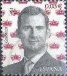 Sellos de Europa - España -  Scott#xxxx intercambio 0,10 usd , 0,03 €, 2016