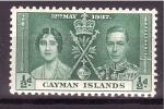 Sellos de Europa - Reino Unido -  serie- Coronación de Jorge VI e Isabel II