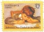 Sellos de America - Costa Rica -  pro ciudad de los niños