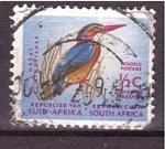 Sellos de Africa - Sudáfrica -  Martín pescador