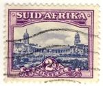 Sellos del Mundo : Africa : Sudáfrica : edificio