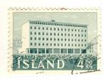 Sellos del Mundo : Europa : Islandia : edificio