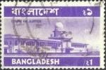 Sellos de Asia - Bangladesh -  Scott#103 , intercambio 0,25 usd. , 1 Taka , 1976