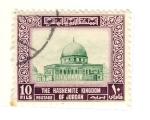 Sellos del Mundo : Asia : Jordania : mezquita
