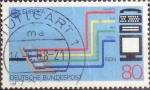 Sellos de Europa - Alemania -  Scott#1553 , intercambio 0,35 usd. , 80 cents. , 1988