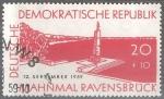 Sellos de Europa - Alemania -  Inauguración del Monumento Nacional y Sitio Memorial-Ravensbrück(DDR).