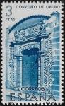 Sellos del Mundo : Europa : España : Forjadores de América - Convento de Oruro, Bolivia  1966 3 ptas