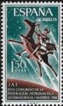 Sellos del Mundo : Europa : España : Don Quijote y Sancho Panza sobre Clavileño  1966  1,50 ptas
