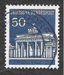Sellos de Europa - Alemania -  955 - Puerta de Brandenburgo