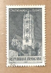 Sellos de Europa - Francia -  EDIFICIO