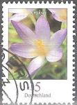 Sellos del Mundo : Europa : Alemania : Flores - El azafrán (Crocus).