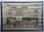 Sellos del Mundo : Europa : Finlandia :  El Kallevale - (País de los héroes) - Centenario de la Epopeya Nacional, 1835-1935 - Sampo laiva - (