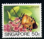 Sellos del Mundo : Asia : Singapur : Chinche Escudo