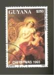 Sellos de America - Guyana -  INTERCAMBIO