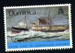 Sellos del Mundo : America : Dominica : Historia de la marina