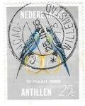 Sellos de America - Antillas Neerlandesas -  aves