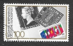 Sellos de Europa - Alemania -  1614 - 150 Aniversario del Primer Sello Postal