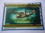 Sellos de America - Colombia -  Dornier Wall 1924 - Historia de la Aviación Colombiana.