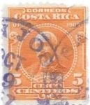 Sellos de America - Costa Rica -  personaje