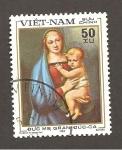 Sellos de Asia - Vietnam -  ARTE