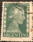 Sellos del Mundo : America : Argentina : Eva Peron