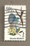 Sellos de America - Estados Unidos -  Flores y aves-Idaho