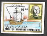 Sellos de Africa - Mauritania -  491 - 475º Aniversario de la Muerte de Cristóbal Colón