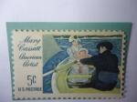 Sellos de America - Estados Unidos -  Mary Cassatt (1844-1926) Óleo,Paseo en el Bote- Serie:Artistas Americanas.