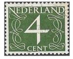 Sellos de Europa - Holanda -  285 - Número