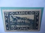 Sellos de Africa - Marruecos -  Valle del DRAA - Antesala del desierto del Sahara-Serie:Paisajes y Monumentos.