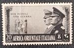 Sellos del Mundo : Africa : Etiopía :  Hitler & Mussolini