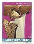 Sellos de Europa - Vaticano -  angel