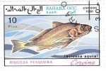 Sellos de Africa - Marruecos -  peces