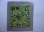 Sellos de Europa - Reino Unido -  King George V - Half Penny