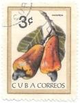 Sellos de America - Cuba -  frutas