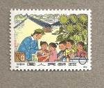 Sellos del Mundo : Asia : China : Vacunando niños