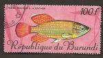 Sellos de Africa - Burundi -  200
