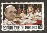 Sellos de Africa - Burundi -  B44