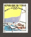 Sellos de Africa - Chad -  186