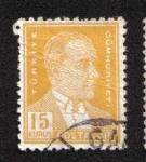Sellos del Mundo : Asia : Turquía : Sellos postales, Ataturk