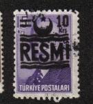 Sellos del Mundo : Asia : Turquía : Sellos oficiales, Ismet Inonu, tipo