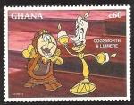 Sellos de Africa - Ghana -  1898