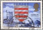Sellos de Europa - Isla de Jersey -  Scott#140 intercambio 0,25 usd, 6 p. 1976